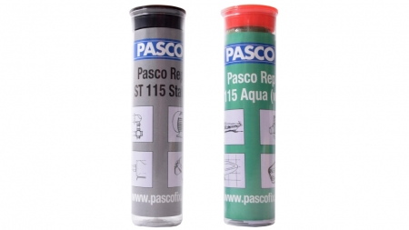 PASCO 2 Set REP Steel & Aqua Modeling Clay 60g